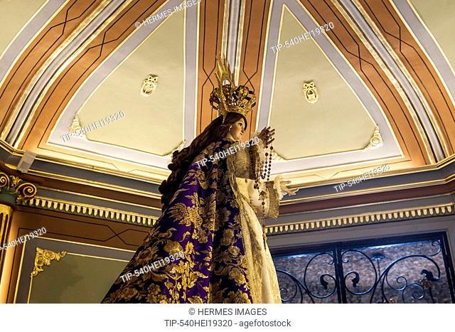 Spain, Murcia region, Calasparra, Virgen de la esperanza sanctuary, museum
