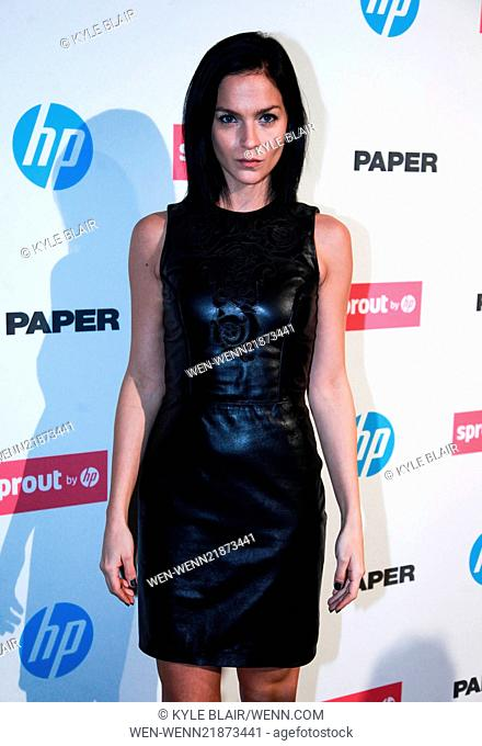 The Paper Magazine New Technology Launch at Center 545 Featuring: Leigh Lezark Where: New York, New York, United States When: 29 Oct 2014 Credit: Kyle...