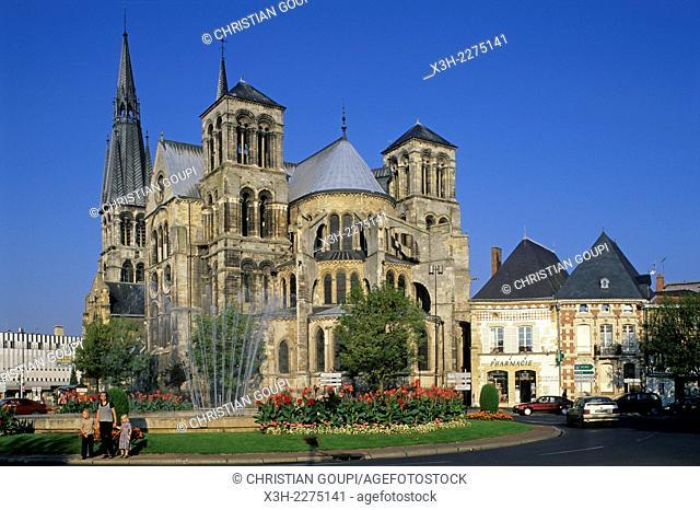 Collegiate Church of Notre-Dame-en-Vaux, Chalons-en-Champagne, Marne department, Champagne-Ardenne region, France, Europe