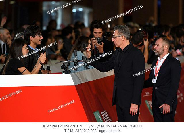 John Turturro during the red carpet of film Motherless Brooklyn at the 14th Rome Film Festival, Rome, ITALY-17-10-2019