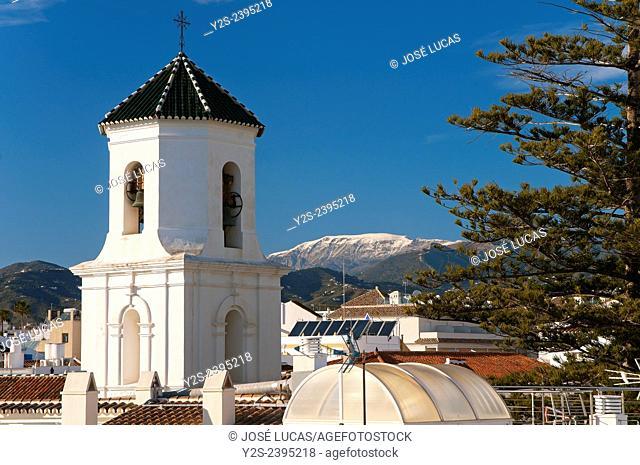 El Salvador church, Nerja, Malaga province, Region of Andalusia, Spain, Europe