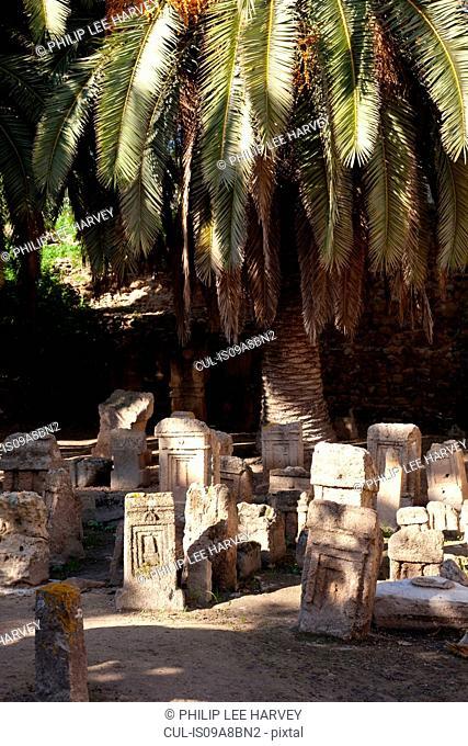 Ancient roman cemetery, Carthage, Tunisia