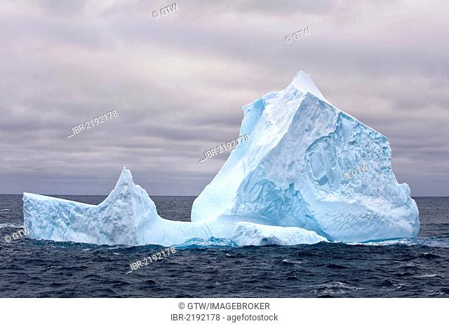 Icebergs, South Orkney Islands, Southern Ocean, Antarctica