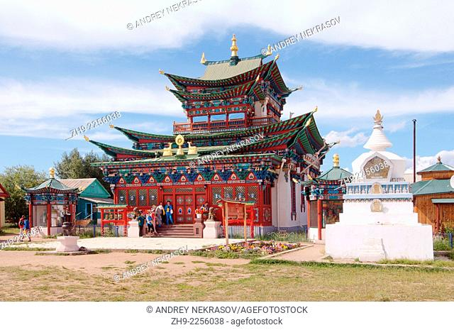 Ivolginsky Datsan - Buddhist Temple, Buryatia, Russian Federation