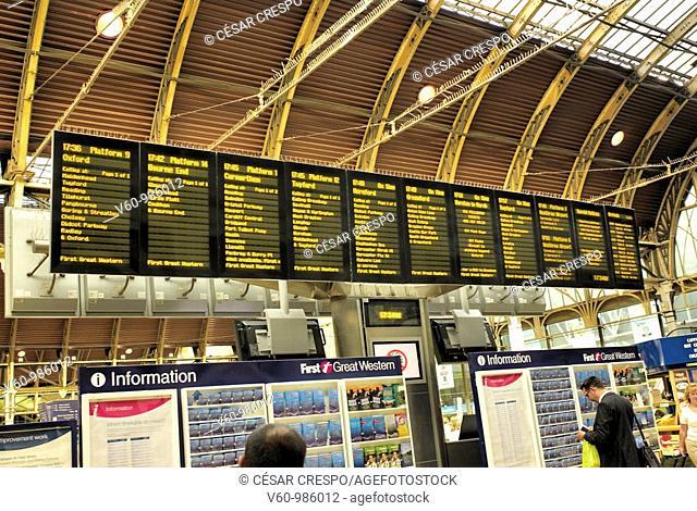 -Paddington Station- London(Uk)