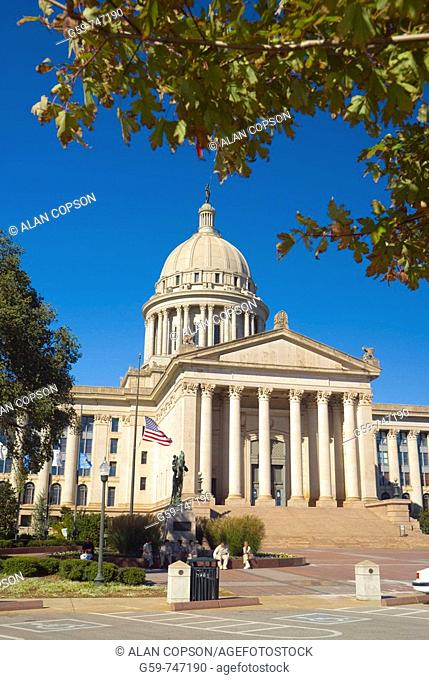 USA Oklahoma Oklahoma City Oklahoma State Capitol Building
