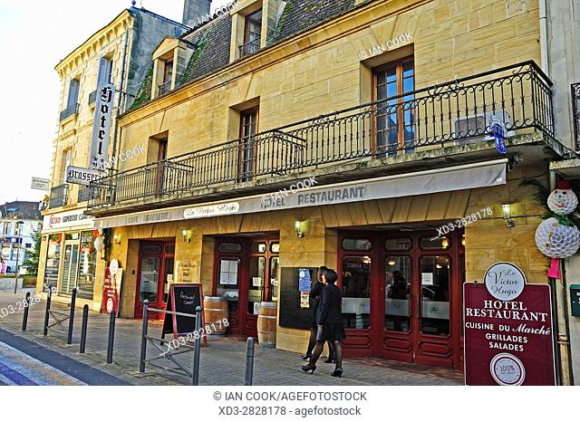 Hotel le Victor Hugo, Sainte-Foy-la-Grande, Gironde Department, Aquitaine, France