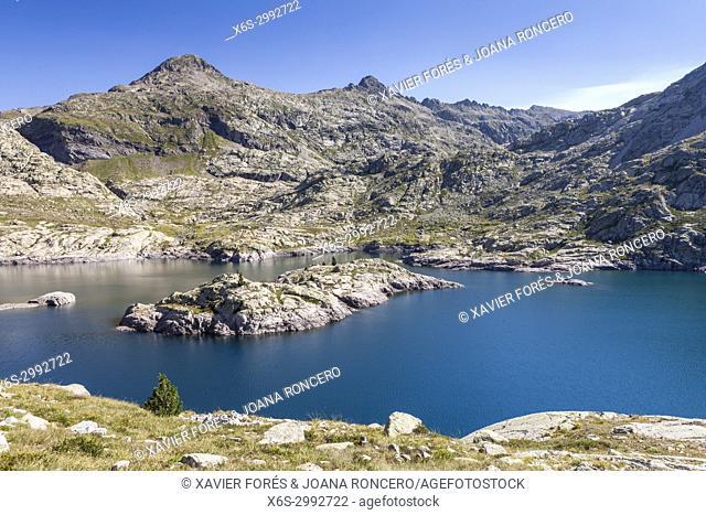 Reservoir of Bachimaña, Baños de Panticosa, Pyrenees, Huesca, Spain