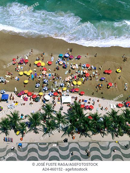Copacabana beach, Rio de Janeiro. Brazil