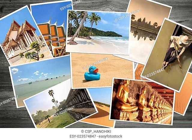 polaroid travel pictures / photos