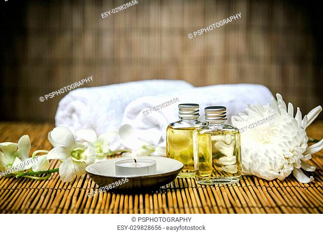 Aromatherapy oil for spa treatment
