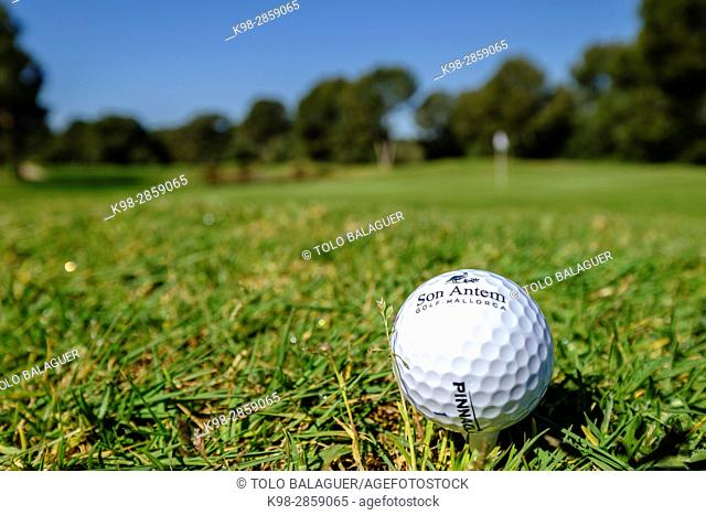 Golf Son Antem, (Marriot), Municipality of Llucmajor, Mallorca, balearic islands, spain, europe