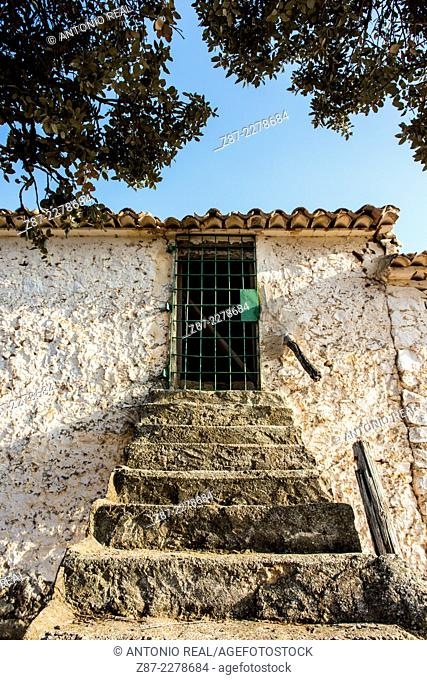 Farm, Los Pozuelos, Almansa, Albacete province, Castilla-La Mancha, Spain