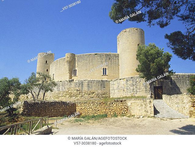 Bellver castle. Palma de Mallorca, Balearic Islands, Spain