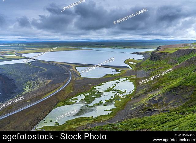 Icelandic landscape along Road 85, Northwestern Region, Iceland