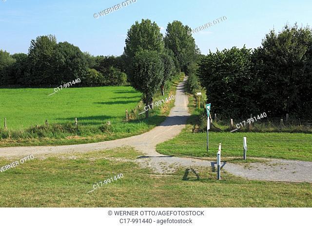 Germany, Duisburg, Rhine, Lower Rhine, Ruhr area, North Rhine-Westphalia, Duisburg-Rheinhausen, Duisburg-Rheinhausen-Friemersheim