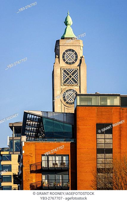 The Oxo Tower, Queen's Walk, The Southbank, London, England