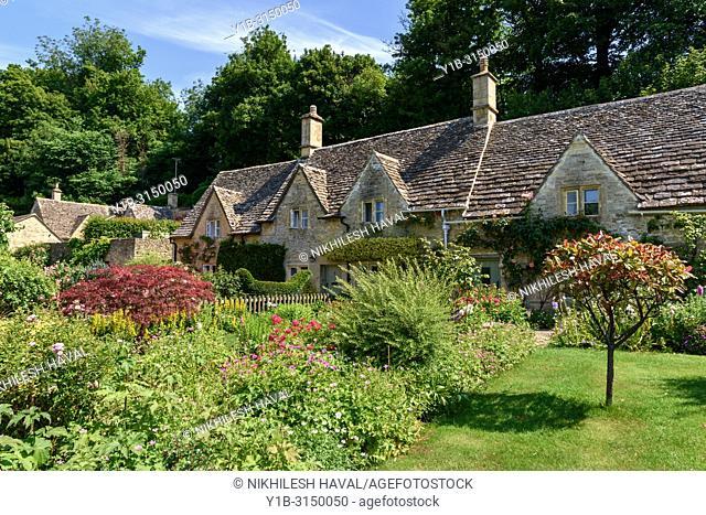 Bibury Cottages, Cotswolds, UK