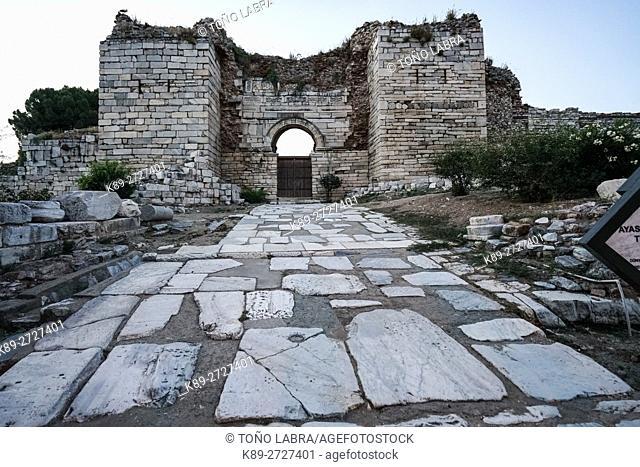 St. John Basilica. Selchuk. Turkey