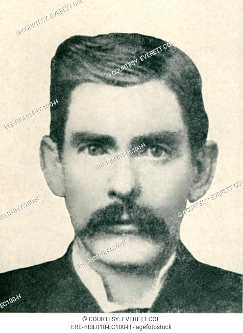 Dr. John H. Holliday 1851-1887 was an American dentist, gambler and gunfighter fought with Wyatt Earp in the Gunfight at the O.K. Corral