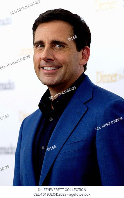 Steve Carell at arrivals for DINNER FOR SCHMUCKS Premiere, The Ziegfeld Theatre, New York, NY July 19, 2010. Photo By: Lee/Everett Collection