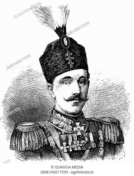 Alexander Joseph of Battenberg (1857 – 1893), first prince (knyaz) of modern Bulgaria