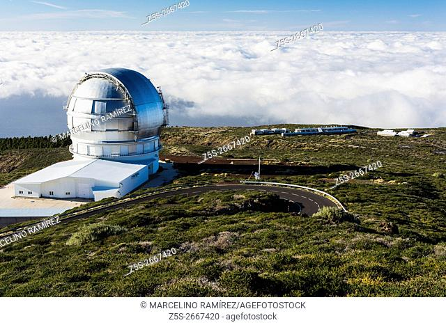 The Gran Telescopio Canarias - GranTeCan or GTC, also known as the Great Canary Telescope is a 10. 4 m reflecting telescope located at the Roque de los...