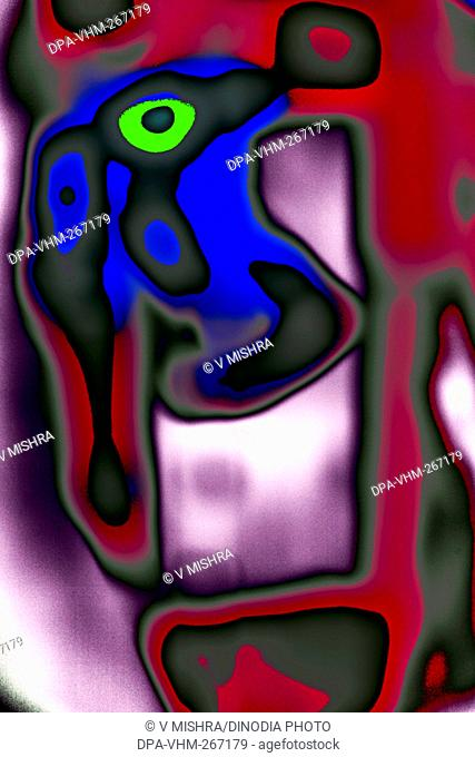 Modern Art Photography Abstract painting, India, Asia
