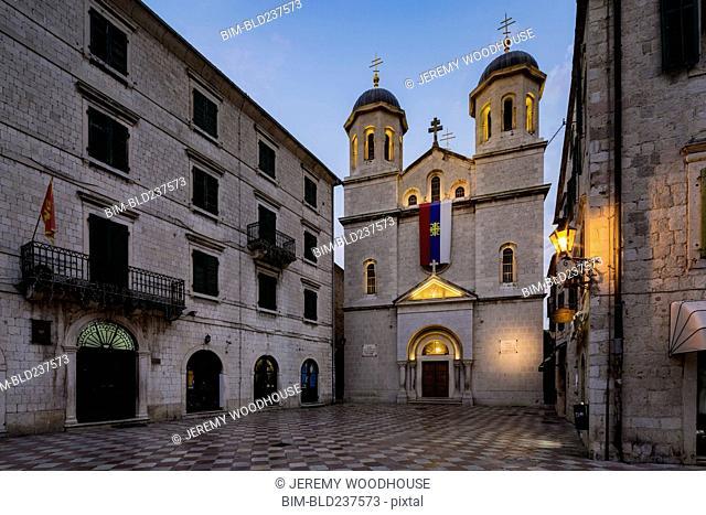 Serbian Orthodox Church of St. Nicholas, Kotor, Province of Dalmatia, Montenegro