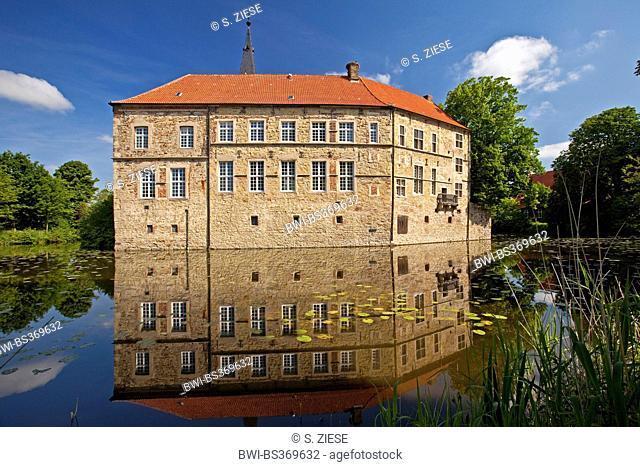 Luedinghausen Castle, Germany, North Rhine-Westphalia, Luedinghausen