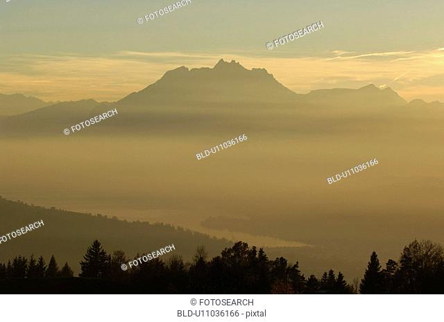 bergruecken, ascent, bergkuppe, bergkegel, atmosphere, Central Switzerland, area