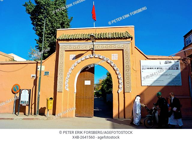 Palais de la Bahia, Bahia palace, Marrakesh, Morocco, northern Africa
