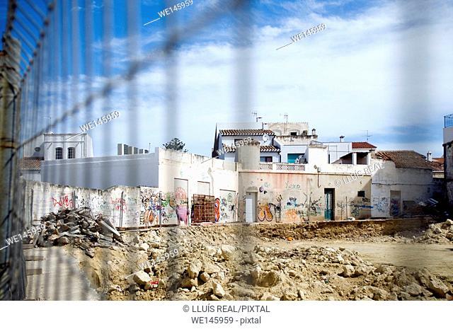 Slums. Spain