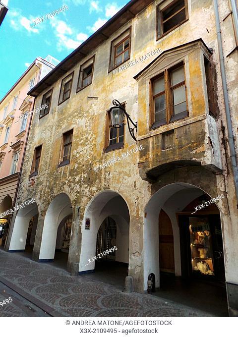 Town of Merano. Main street. Rome, Italy