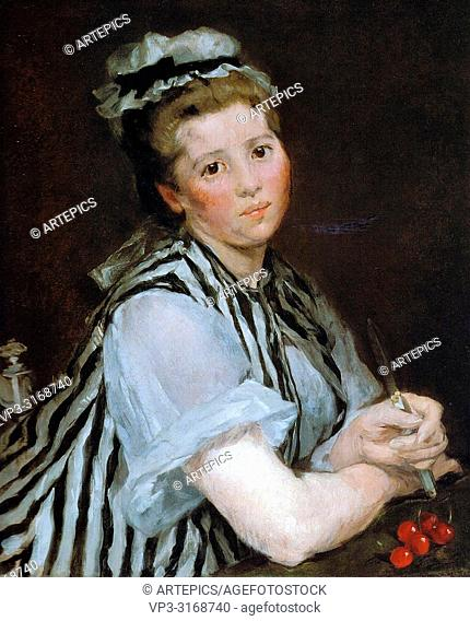 Gonzales Eva - Girl with Cherries
