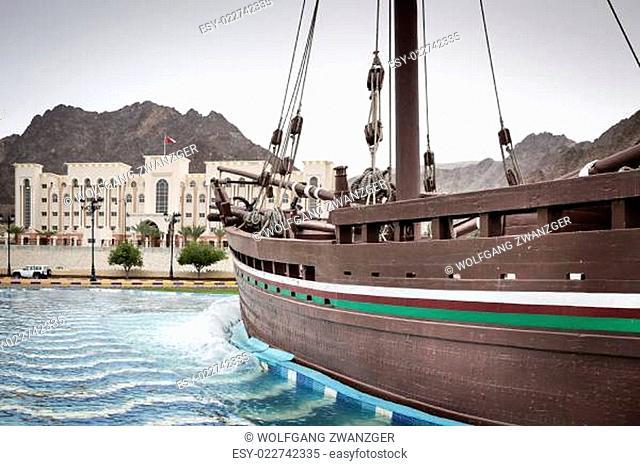 Dhow Sohar in Muscat