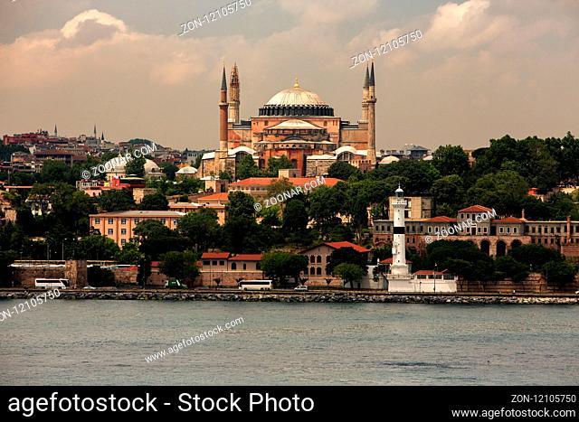 Istanbu - Hagia Sophia - Sophienkirche - Ayasofya