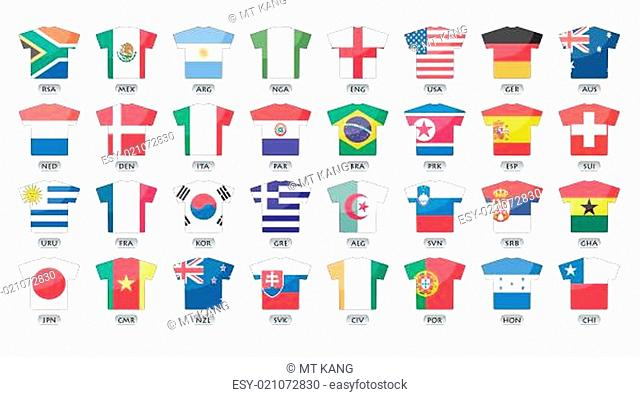 countries flags icons