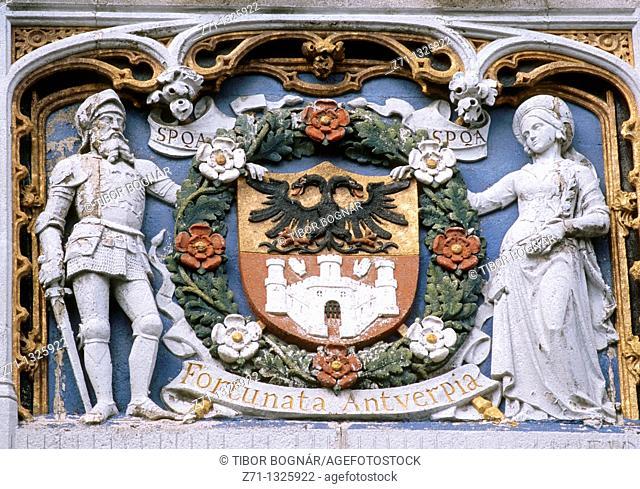 Belgium, Antwerpen, Coat of Arms