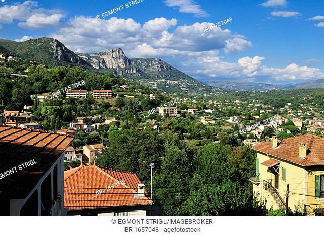 Mountain view near Vence, Department Alpes-Maritimes, Region Provence-Alpes-Côte d'Azur, France, Europe