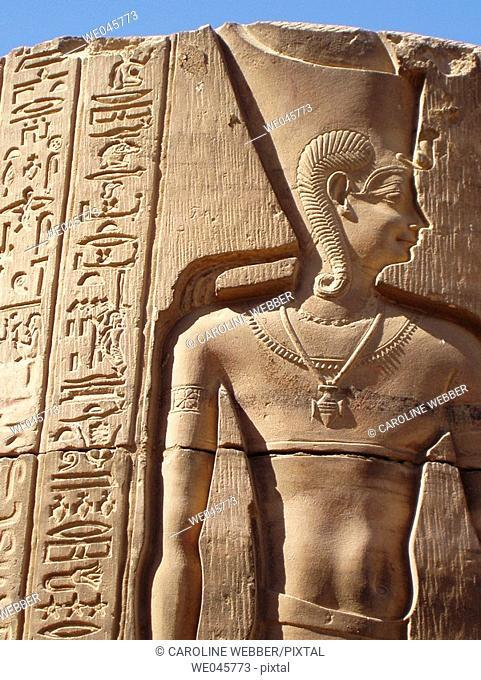 Pillar at Kom Ombo, Egypt