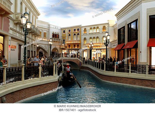 The Venetian Hotel on Las Vegas Boulevard, Las Vegas, Nevada, USA