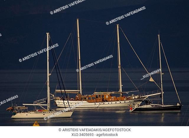 Porto Heli in Peloponnese Greece