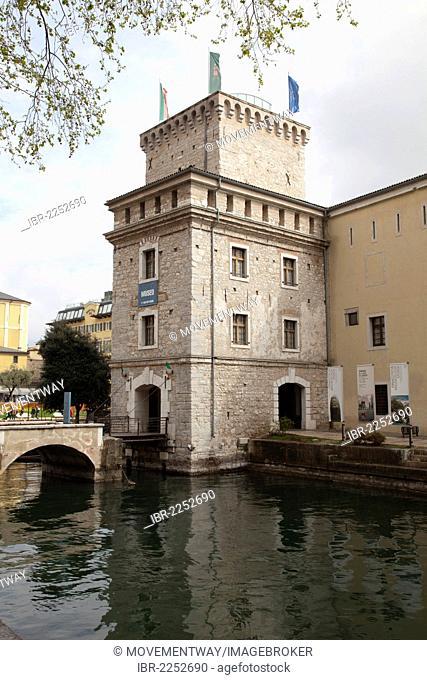 Pinacoteca Museum, Rocca, moated castle, Riva del Garda, Lake Garda, Trentino-Alto Adige, Italy, Europe, PublicGround