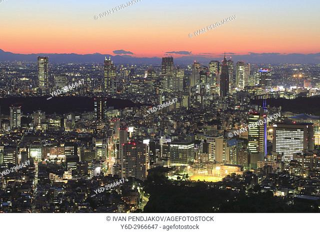 Tokyo at Sunset, Japan