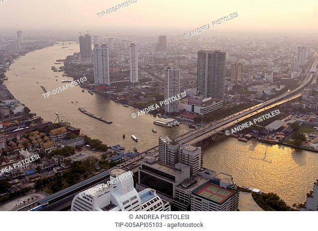 Thailand, Bangkok. Chao Praya River