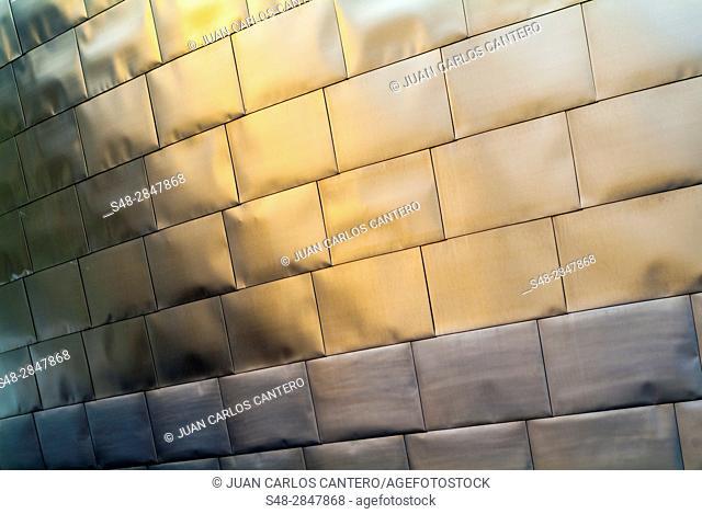 Museo Guggenheim. Bilbao. Vizcaya. Basque Country. Spain. Europe