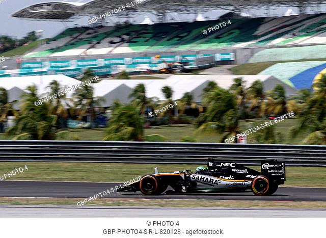 30.09.2016 - Free Practice 1, Nico Hulkenberg (GER) Sahara Force India F1 VJM09