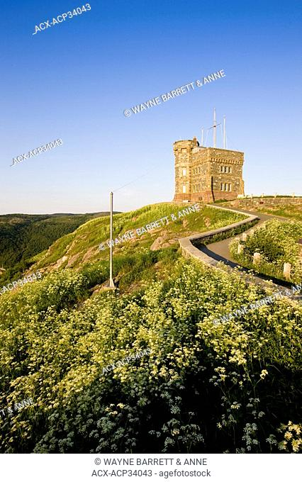 Cabot Tower on Signal Hill National Historic Site, St. John's, Newfoundland and Labrador, Canada