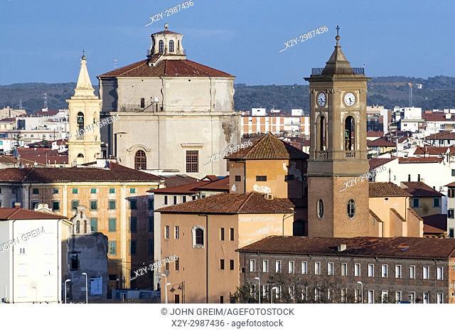 Old city Livorno, Tuscany, Italy